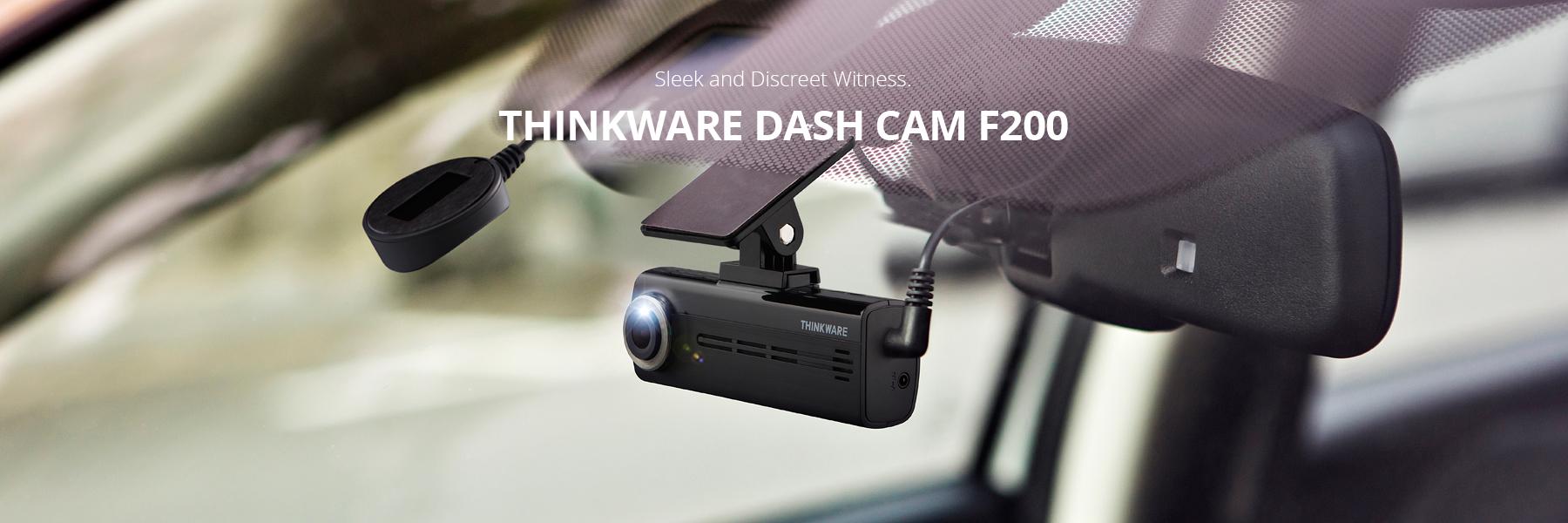 thinkware dash cam F200