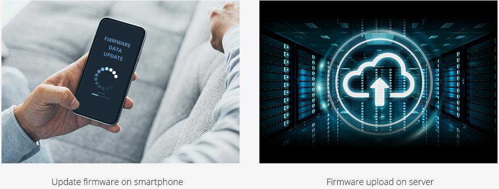 immagine app thinkware connected lte funzioni